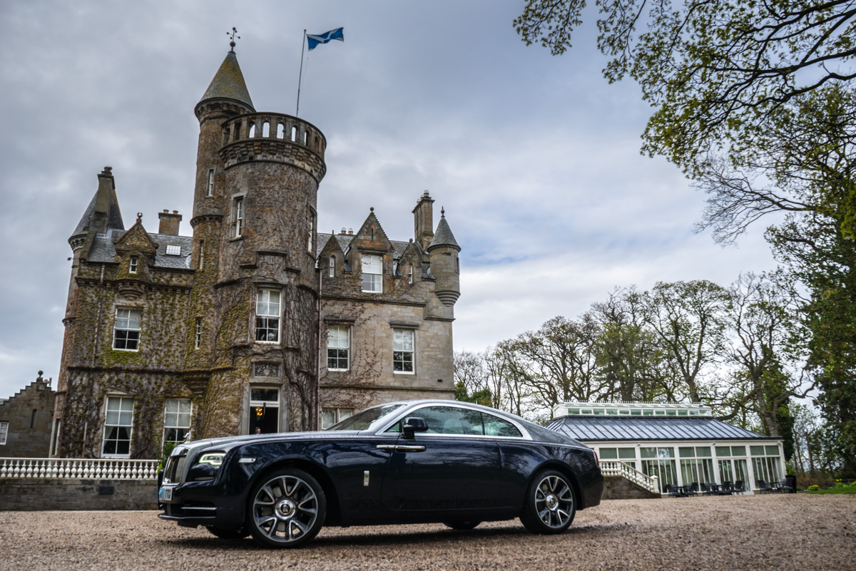 Staying at Carlowrie Castle, Edinburgh 1