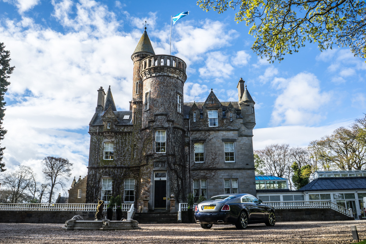 Staying at Carlowrie Castle, Edinburgh 2