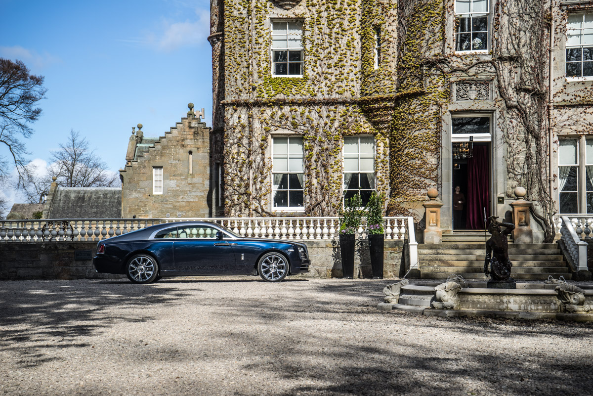 Staying at Carlowrie Castle, Edinburgh 3