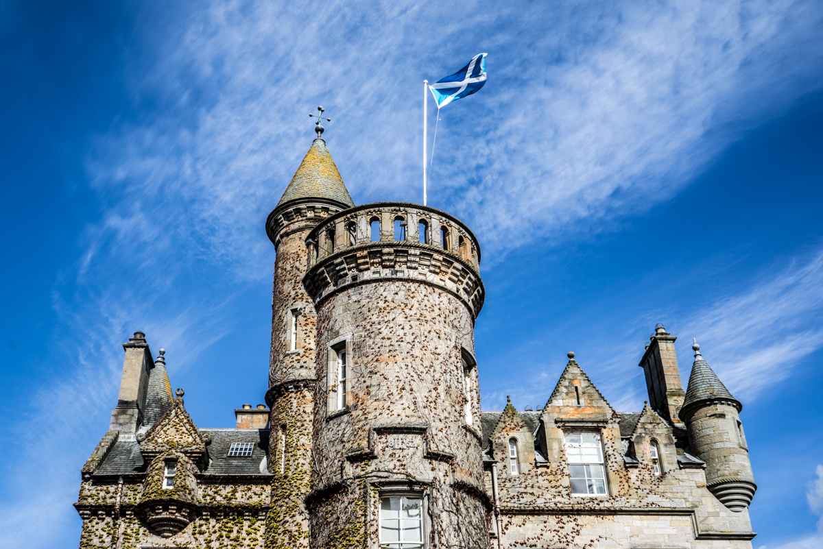 Staying at Carlowrie Castle, Edinburgh 7
