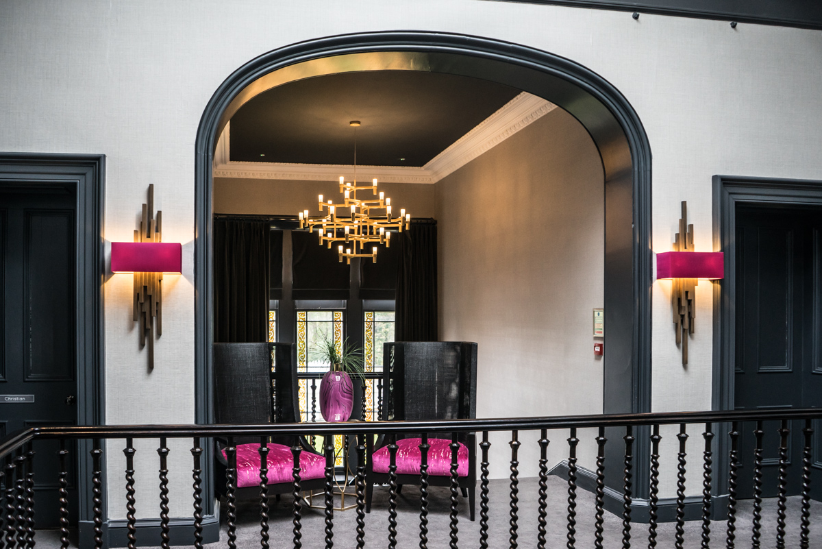 Staying at Carlowrie Castle, Edinburgh 20