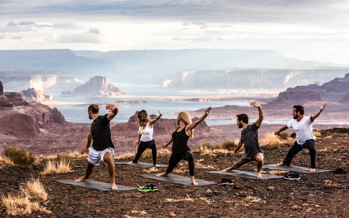 Yoga at 1000ft With Amangiri in Utah 4
