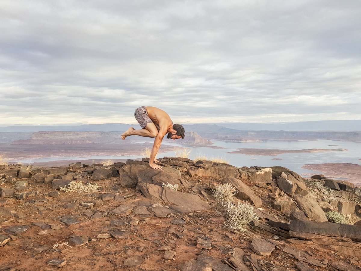 Yoga at 1000ft With Amangiri in Utah 3
