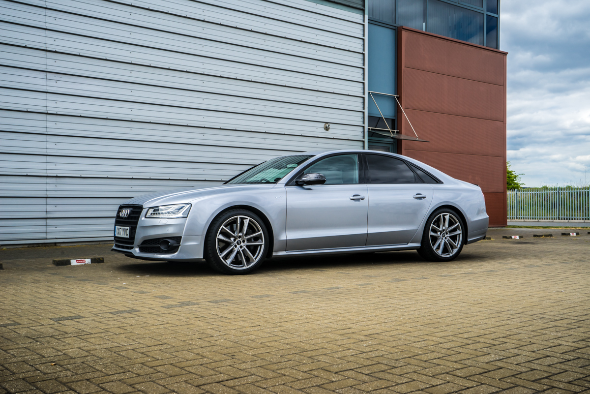 A well rounded performance sedan: The Mighty Audi S8 Plus 4