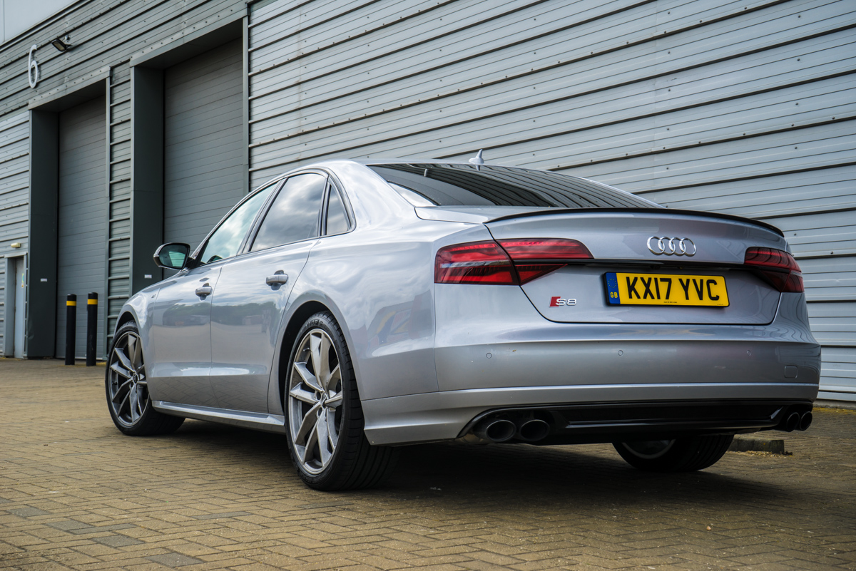A well rounded performance sedan: The Mighty Audi S8 Plus 9