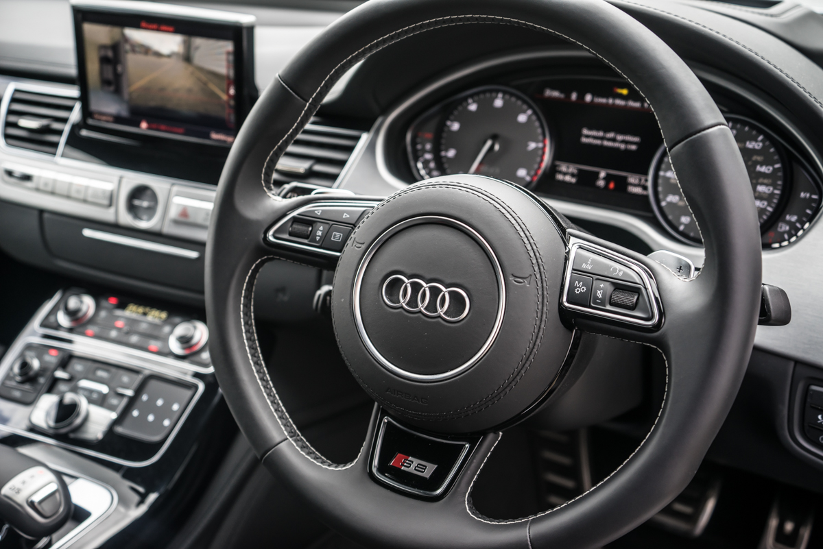 A well rounded performance sedan: The Mighty Audi S8 Plus 7