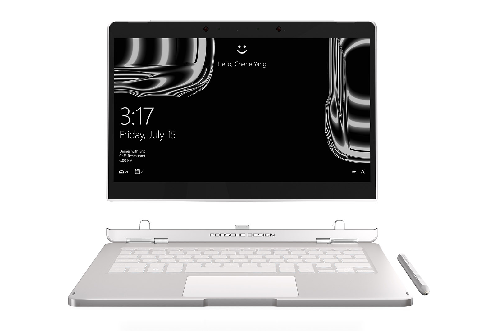 Edles Ultra-Notebook: Das Porsche Design BOOK ONE 1