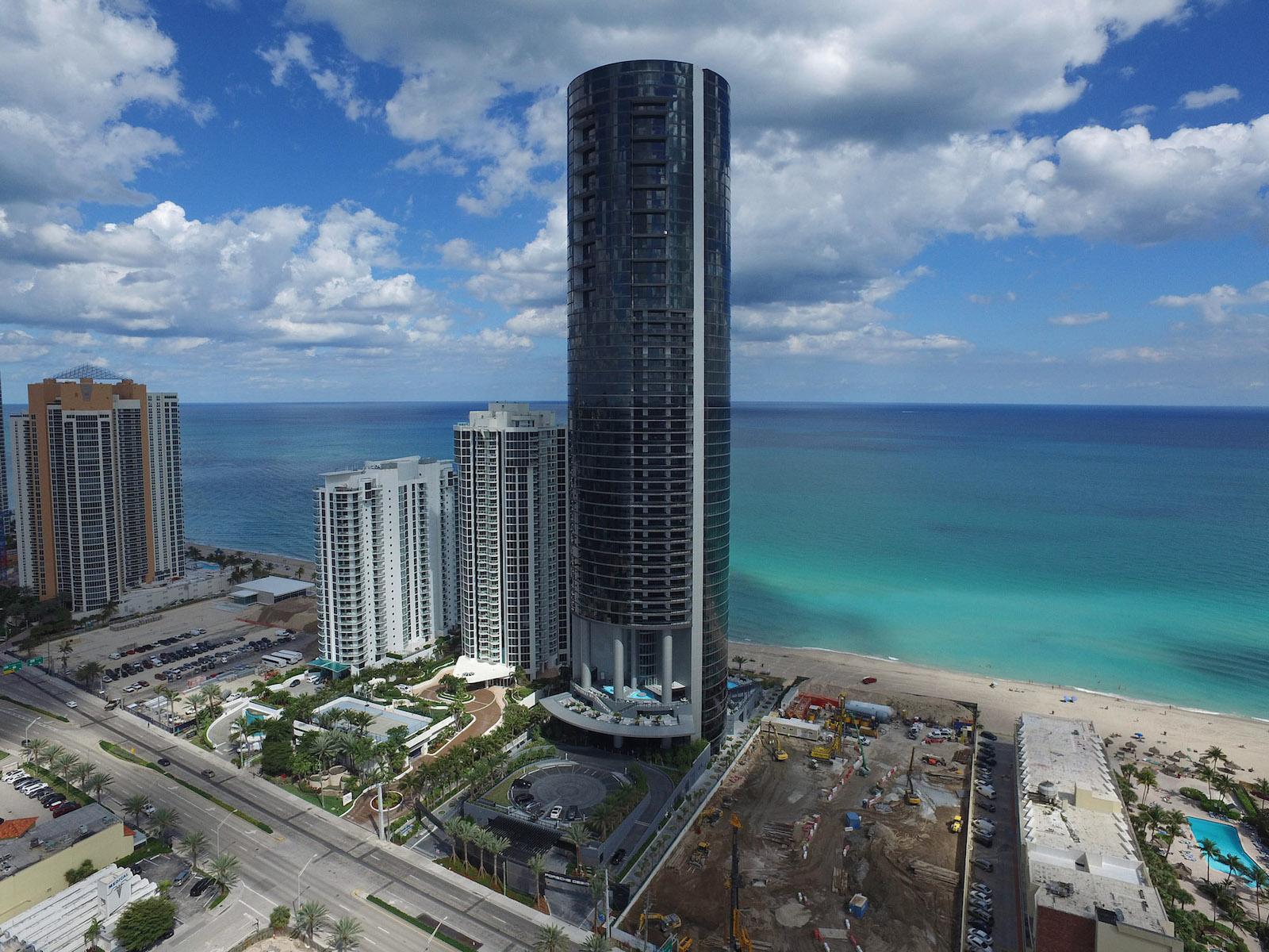 Technologie und luxuriöser Wohnkomfort: Der Porsche Design Tower Miami 3