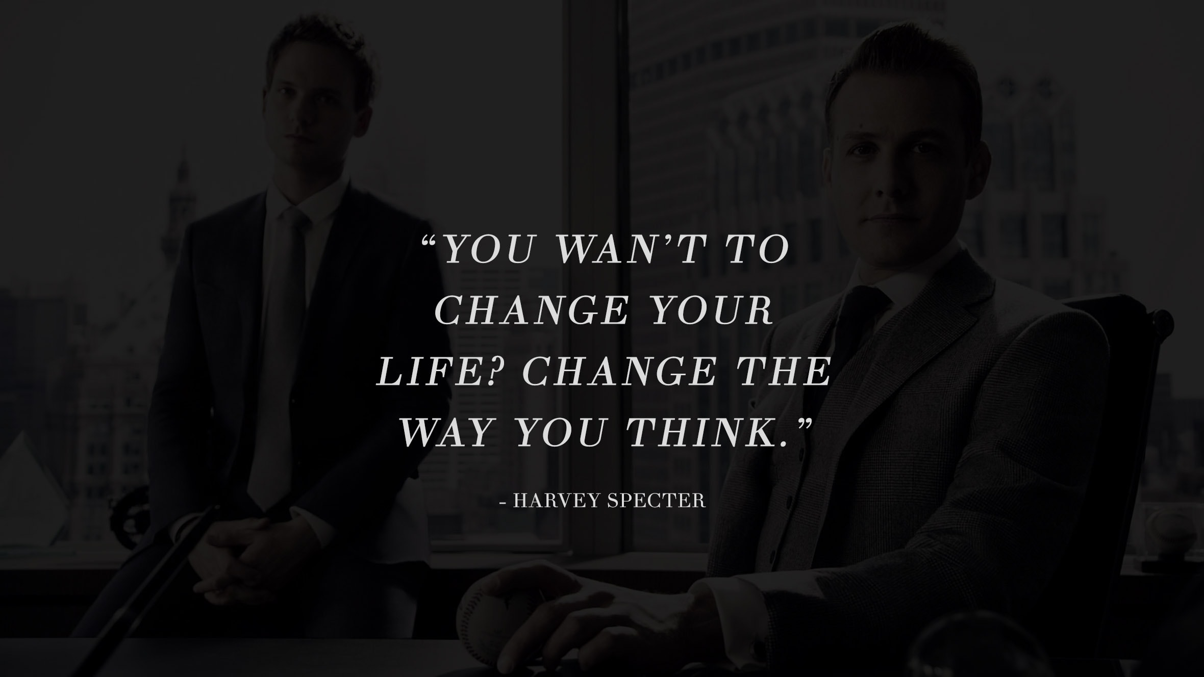 13 Highly Inspiring And Motivating Quotes From The Successful TV Series Suits 5