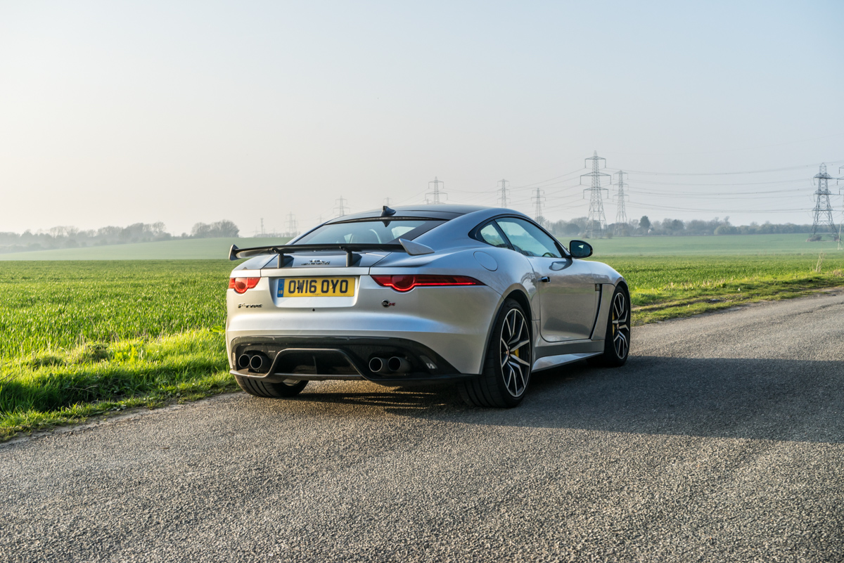 Waking Up The Neighbours With The F-Type SVR Coupe 8