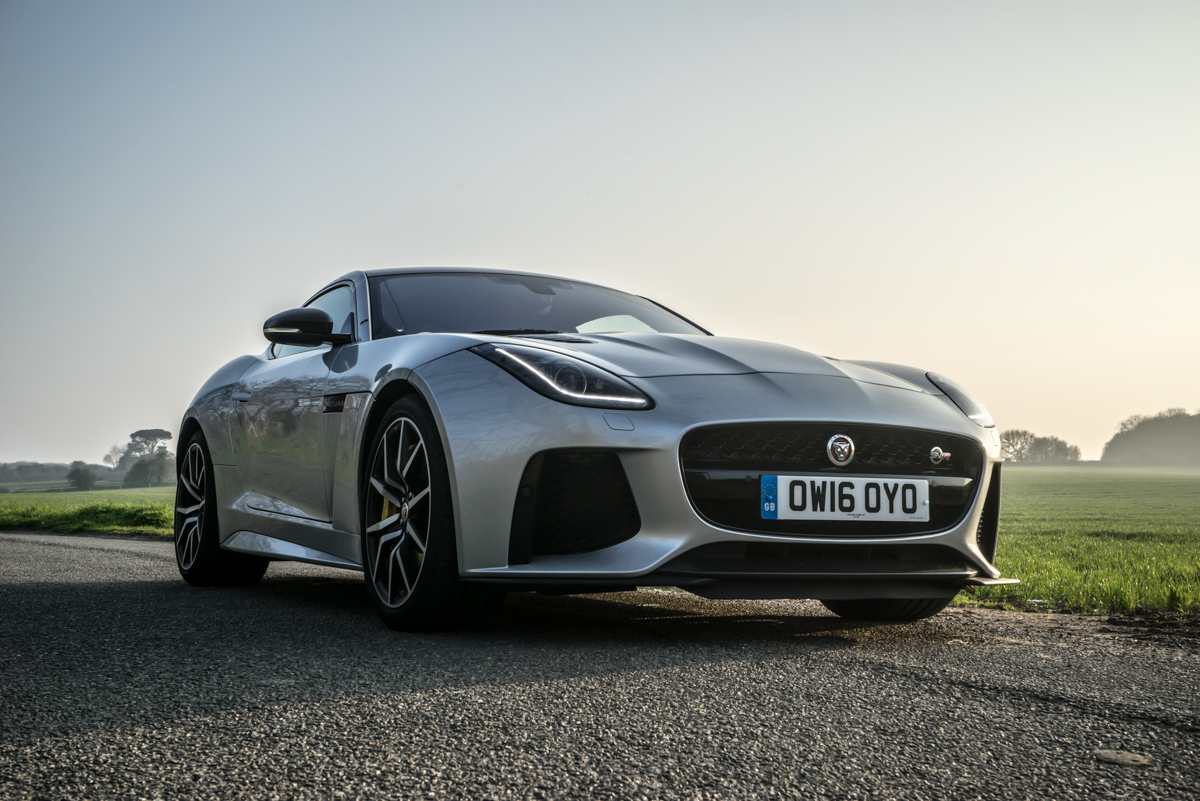 Waking Up The Neighbours With The F-Type SVR Coupe 7
