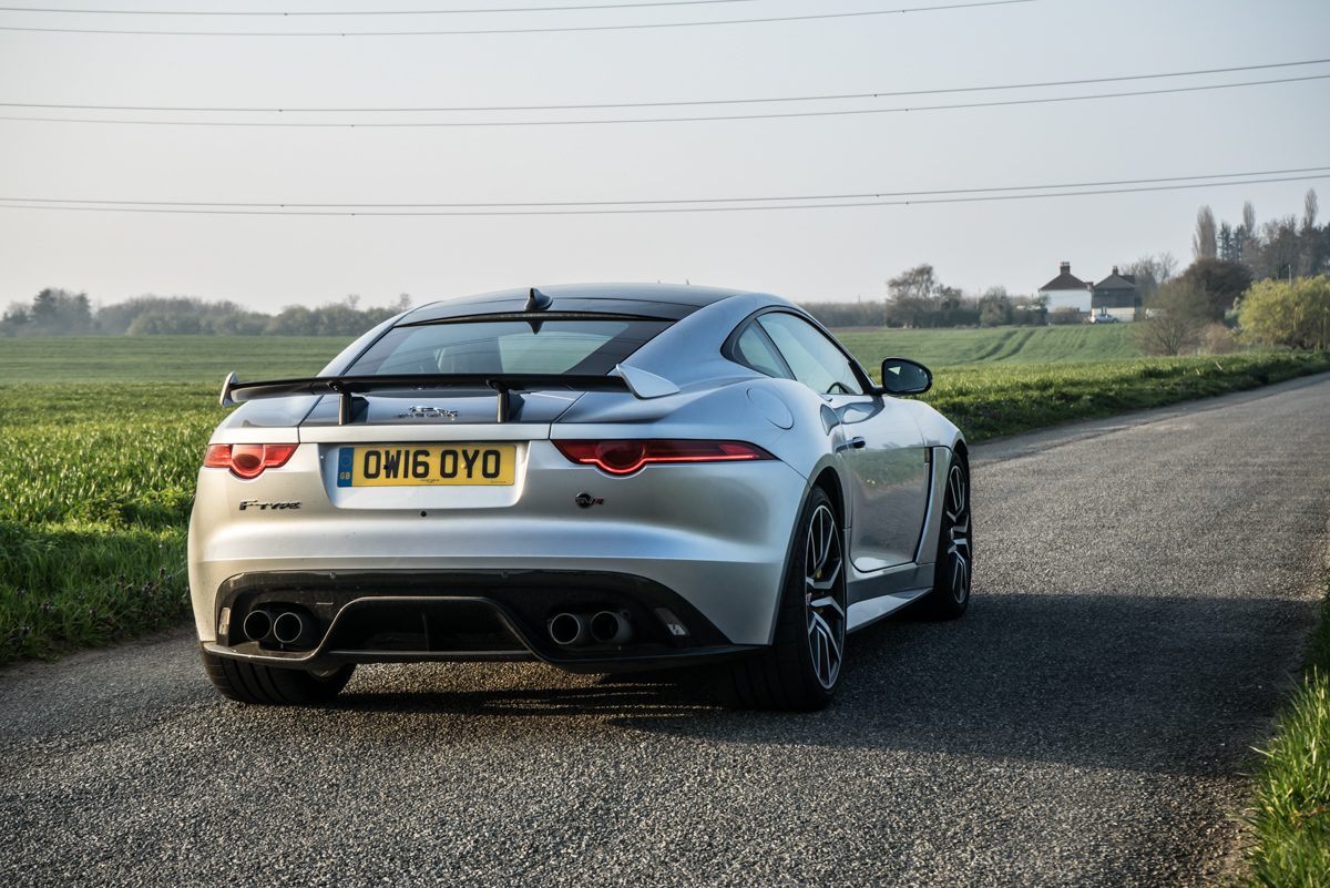 Waking Up The Neighbours With The F-Type SVR Coupe 2