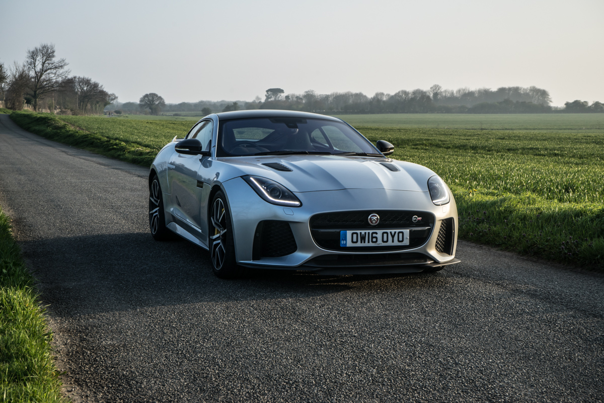 Waking Up The Neighbours With The F-Type SVR Coupe 6