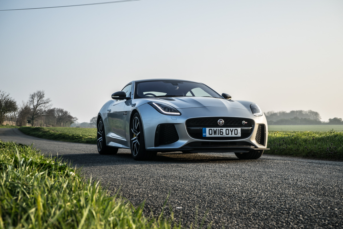 Waking Up The Neighbours With The F-Type SVR Coupe 1