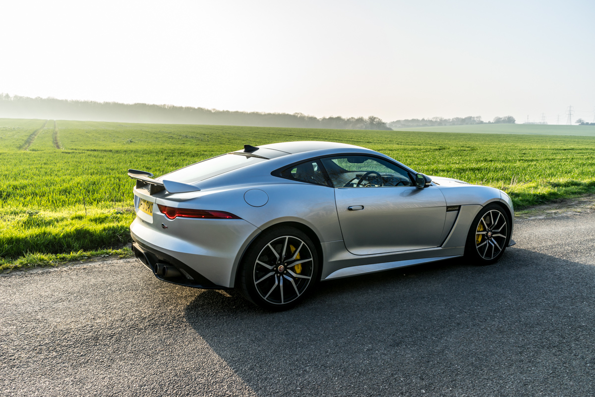Waking Up The Neighbours With The F-Type SVR Coupe 9