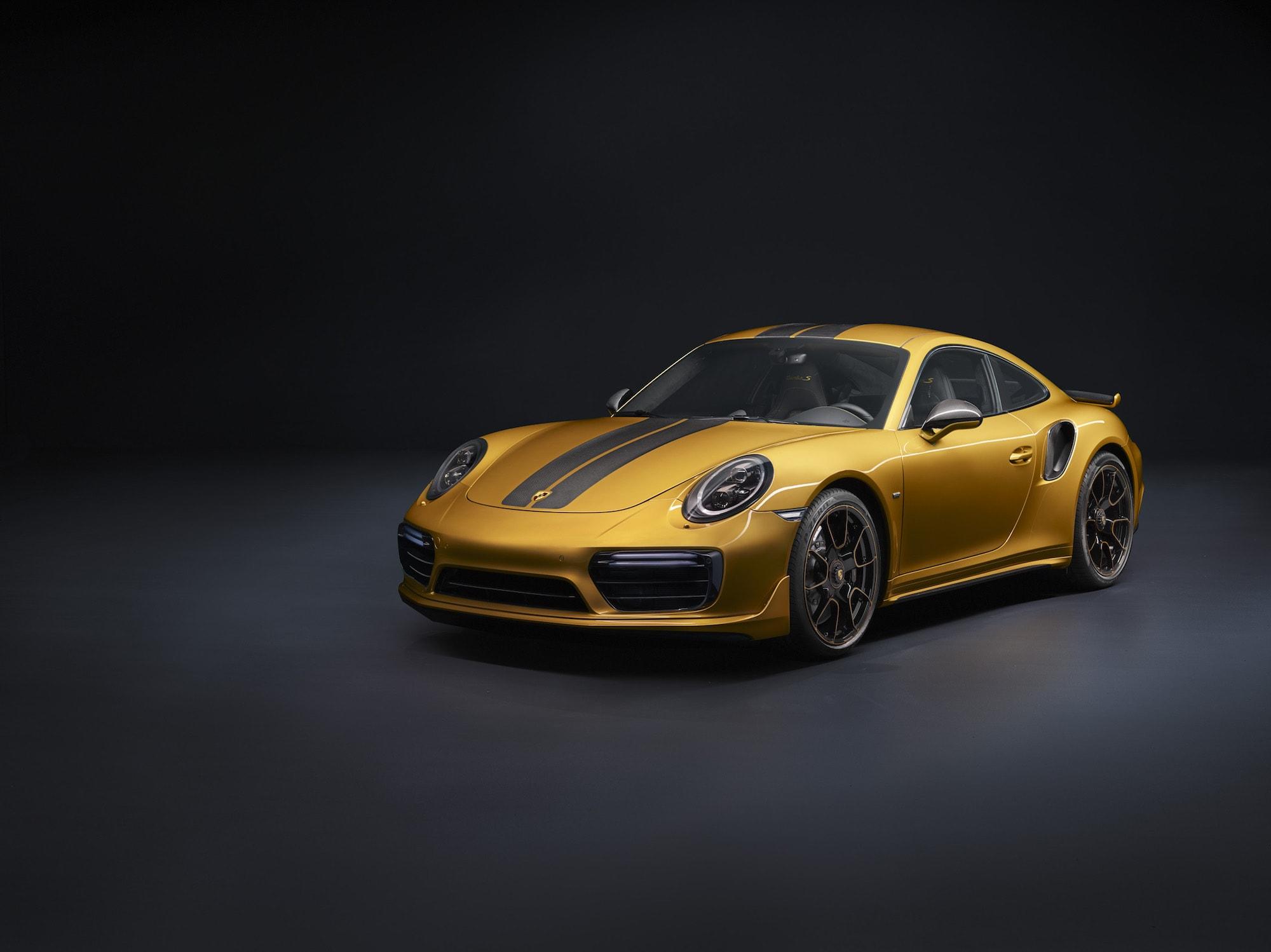 Echt goldig: Der Neue 911 Turbo S Exclusive Series 1