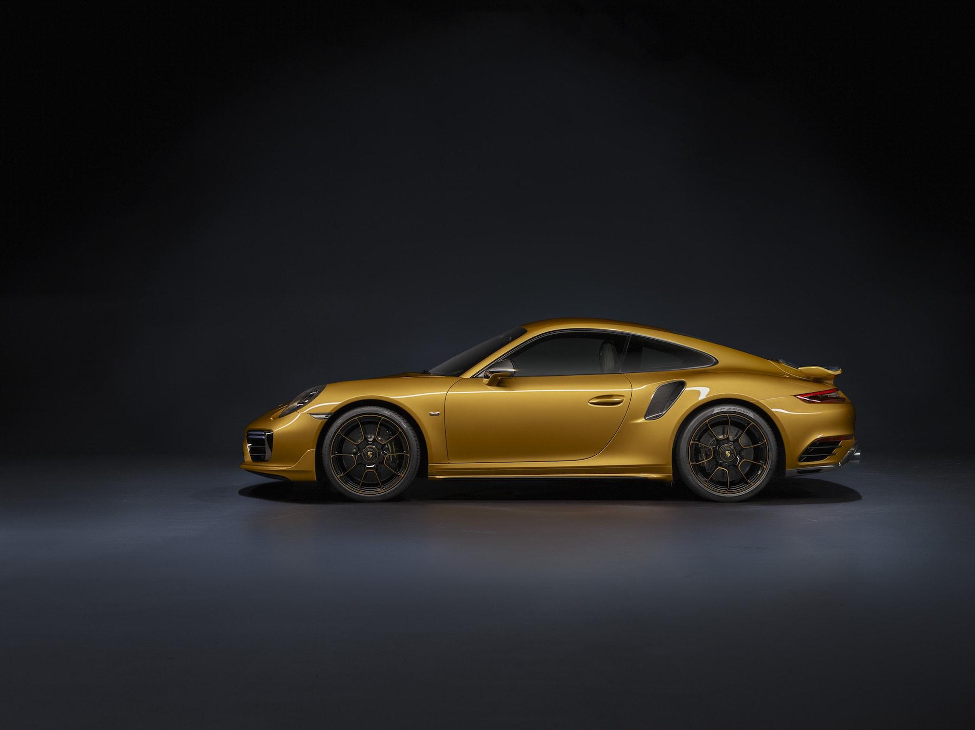 Echt goldig: Der Neue 911 Turbo S Exclusive Series 2