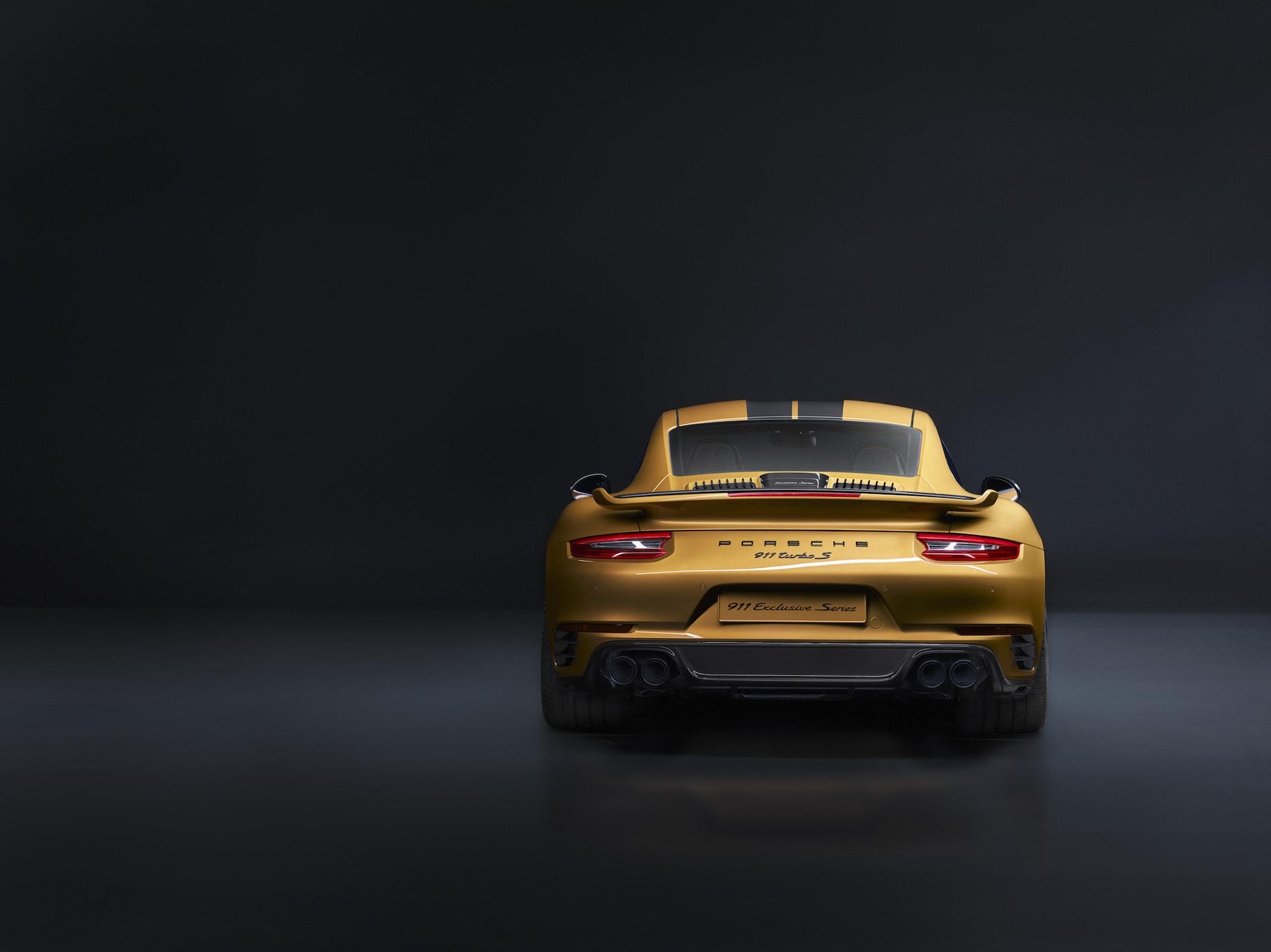 Echt goldig: Der Neue 911 Turbo S Exclusive Series 3
