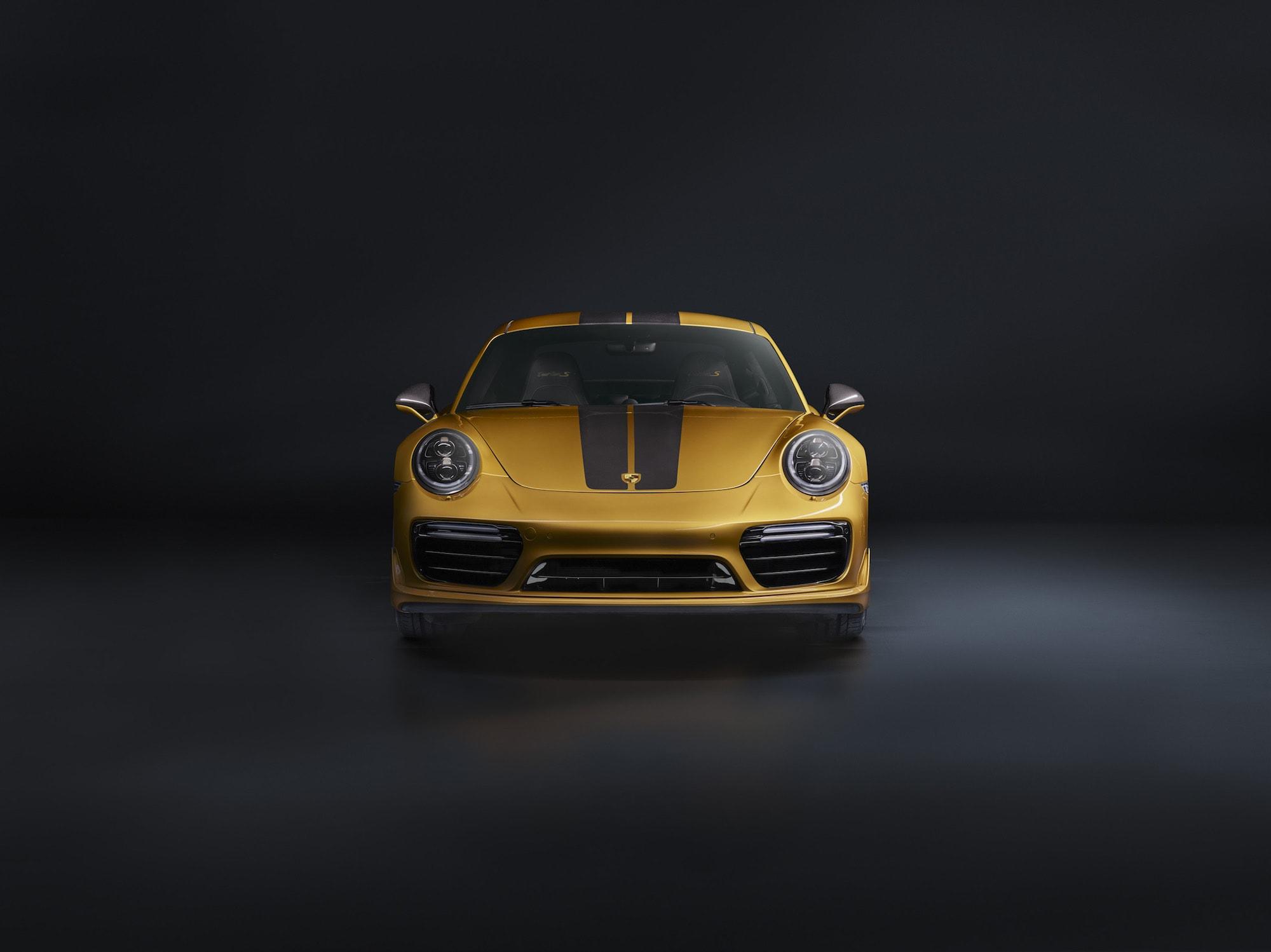 Echt goldig: Der Neue 911 Turbo S Exclusive Series 4
