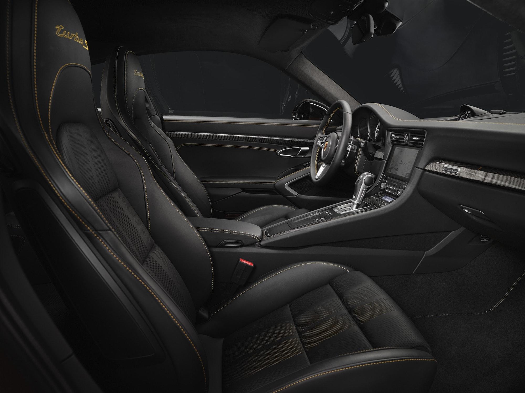 Echt goldig: Der Neue 911 Turbo S Exclusive Series 5