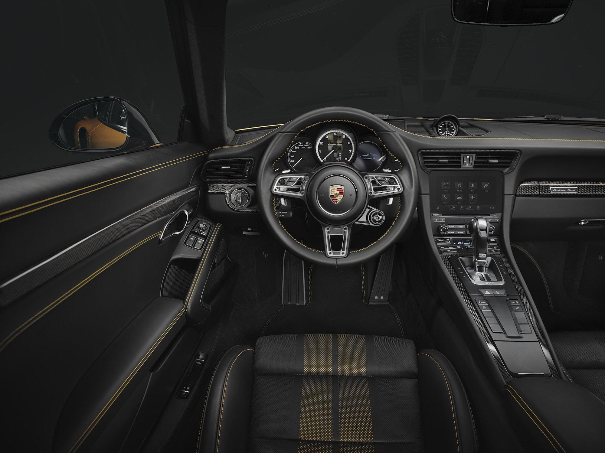 Echt goldig: Der Neue 911 Turbo S Exclusive Series 6