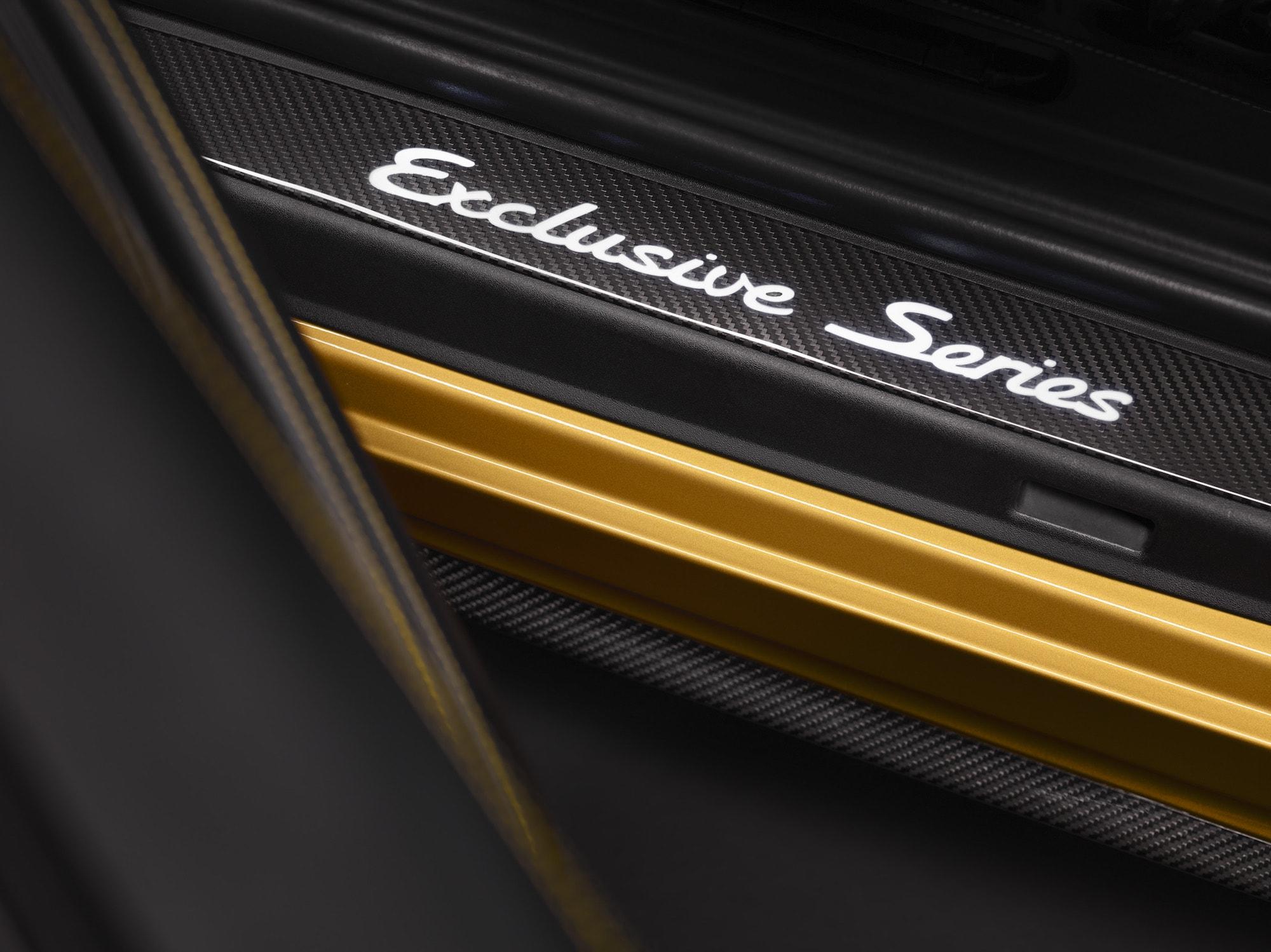 Echt goldig: Der Neue 911 Turbo S Exclusive Series 7