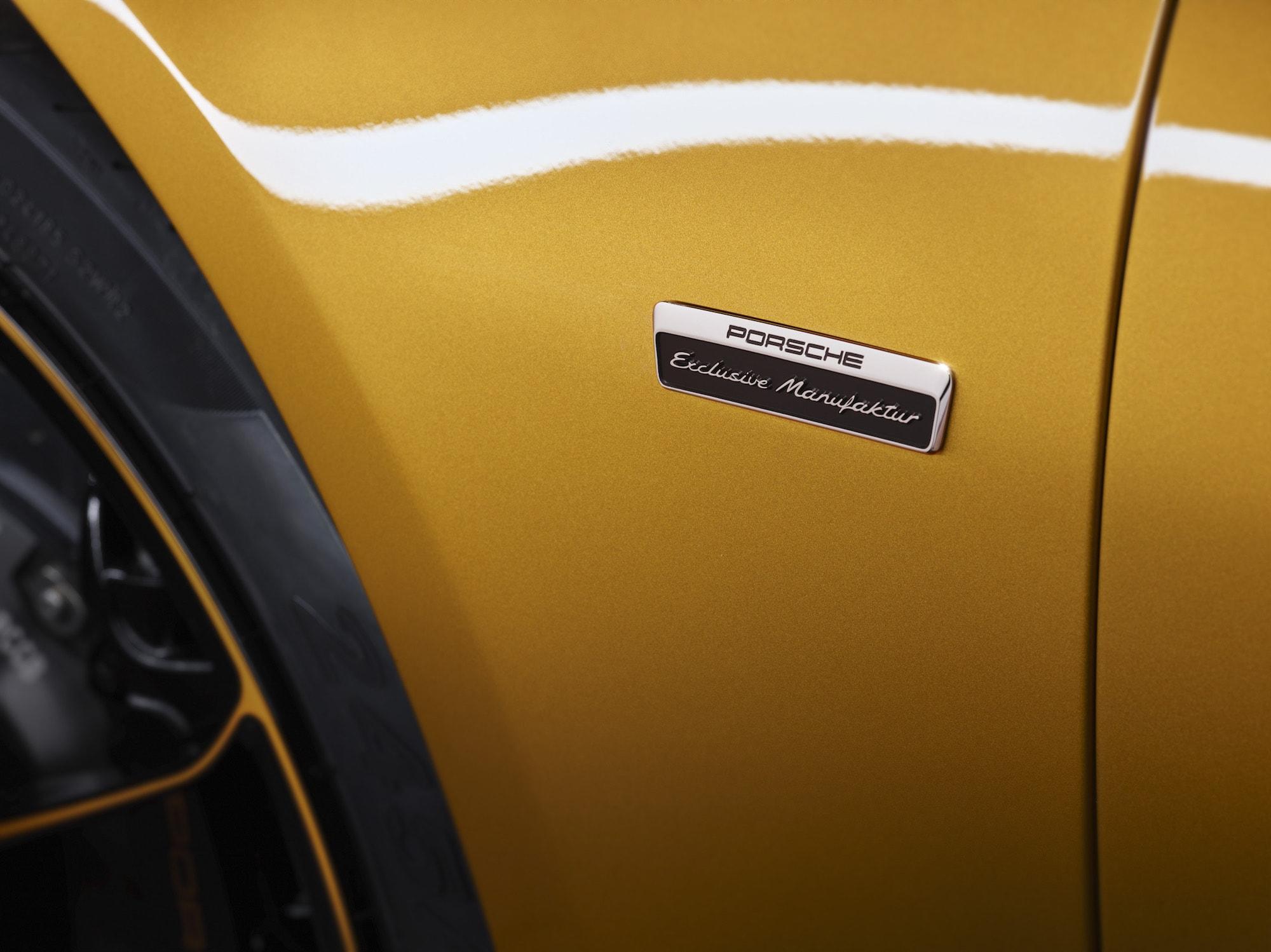 Echt goldig: Der Neue 911 Turbo S Exclusive Series 8
