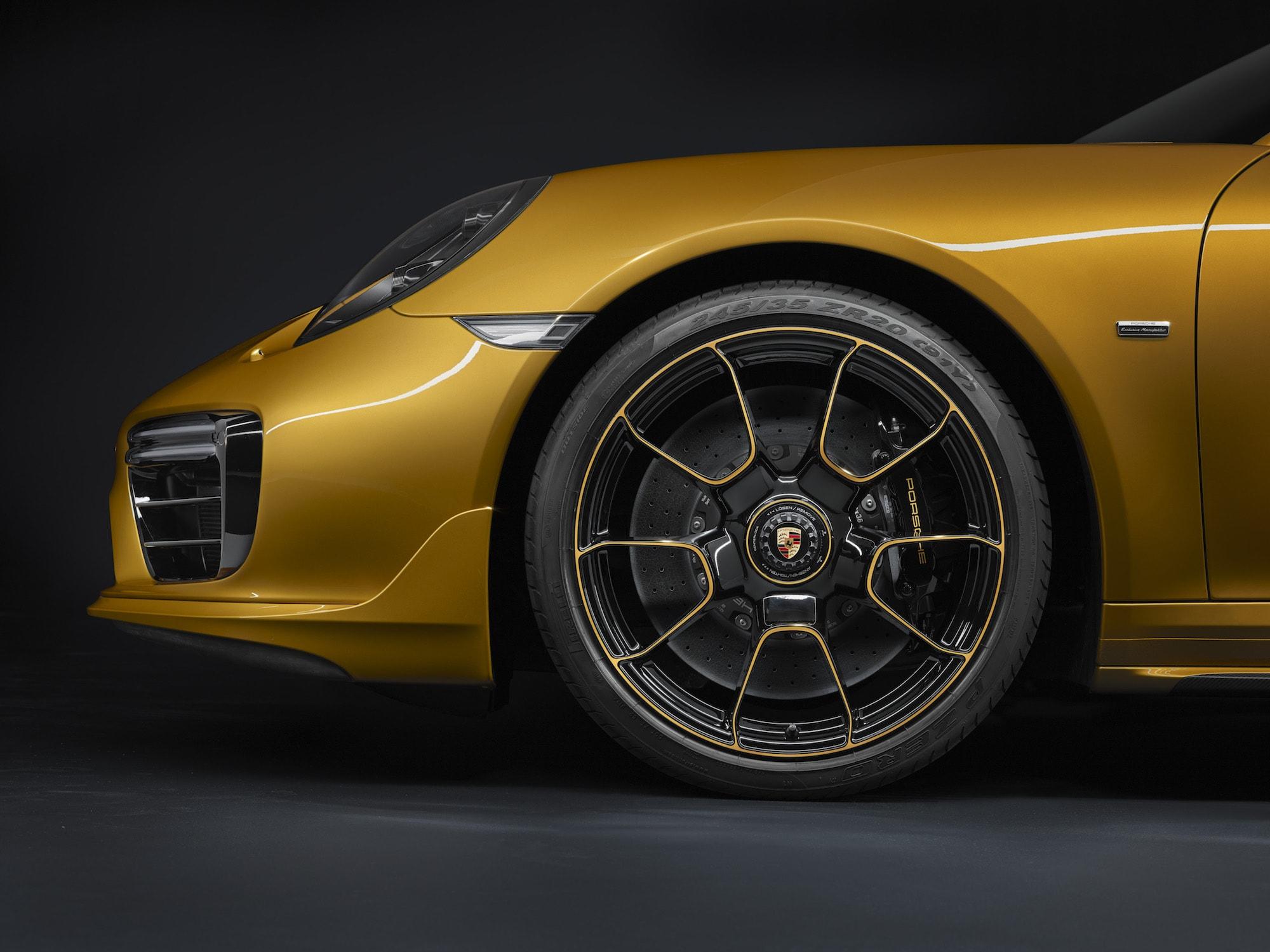Echt goldig: Der Neue 911 Turbo S Exclusive Series 9