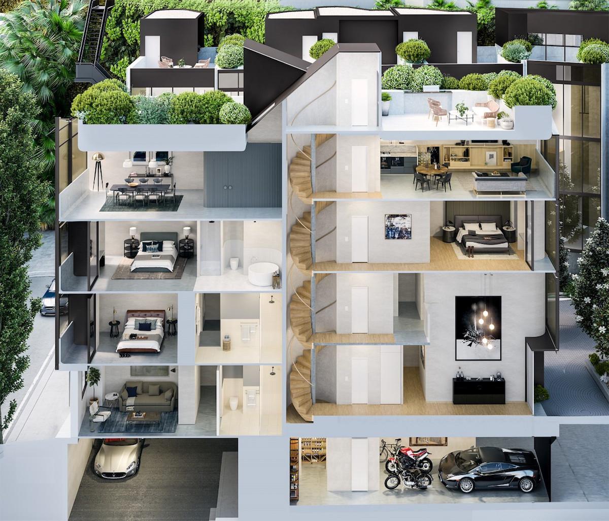Extravagantes Bauprojekt im Herzen Sydneys: Paragon Of Pyrmont 8