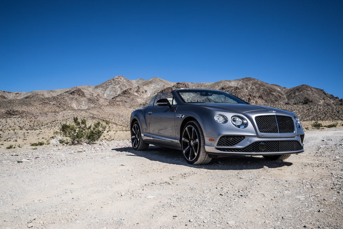 Cali To Vegas In The Bentley GTV8s Convertible 7