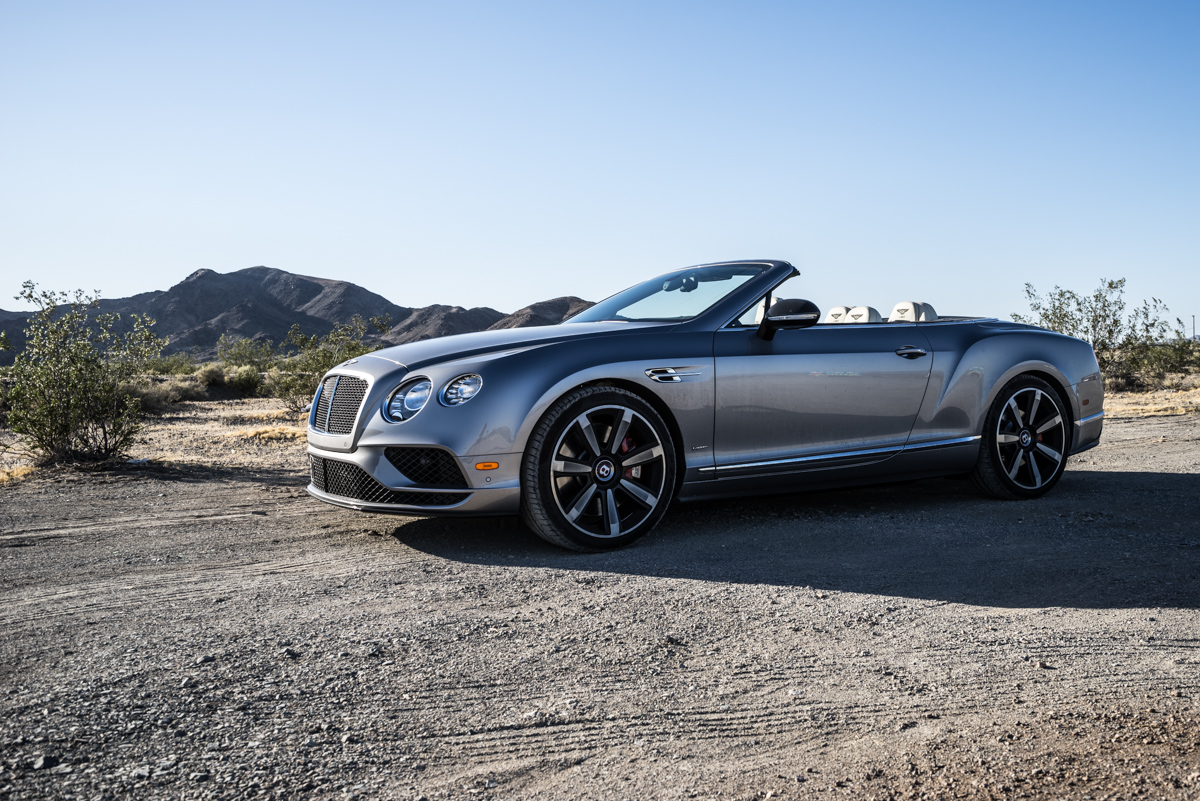 Cali To Vegas In The Bentley GTV8s Convertible 3
