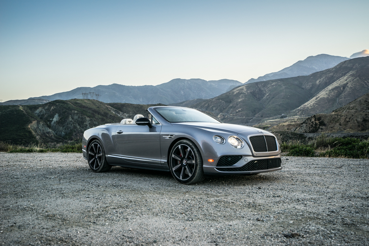 Cali To Vegas In The Bentley GTV8s Convertible 4