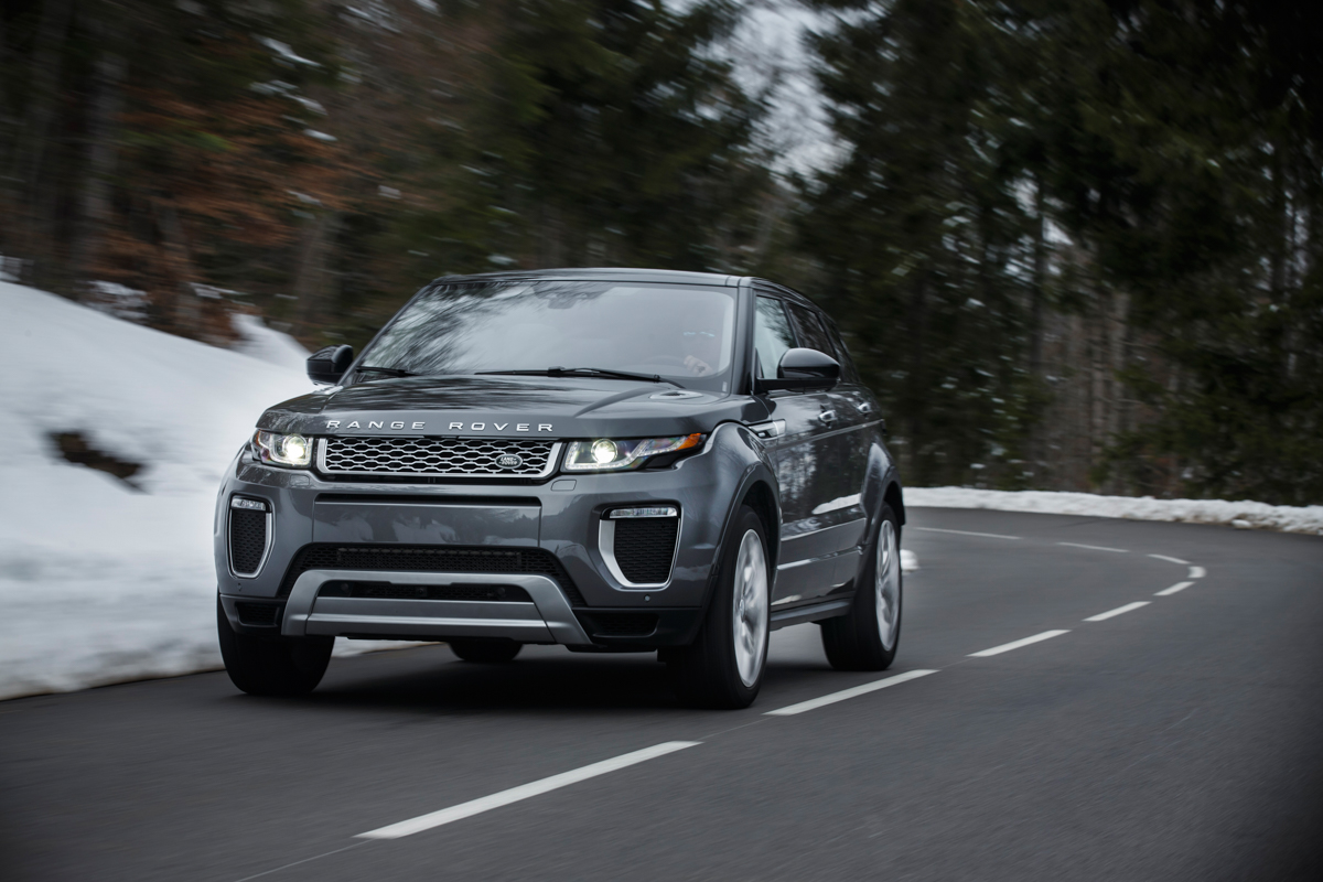 The Range Rover Evoque Autobiography 1