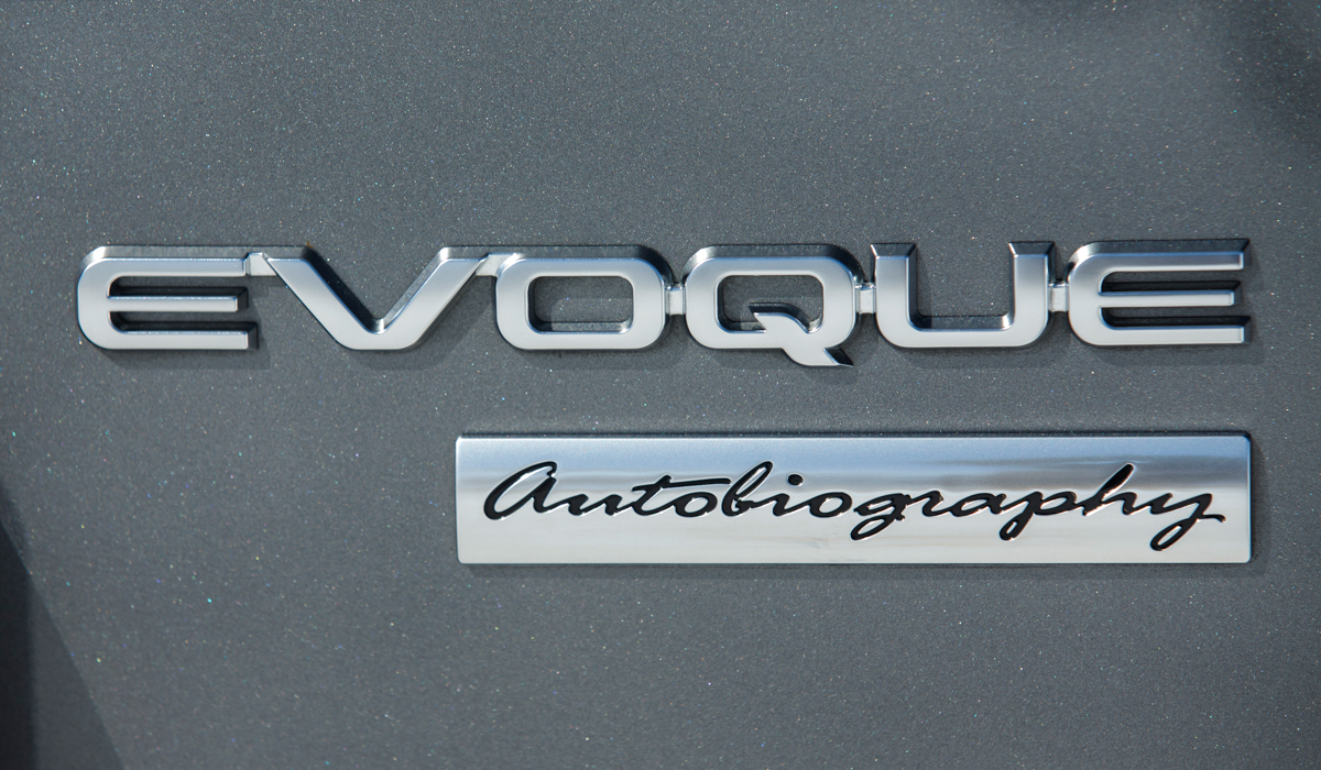 The Range Rover Evoque Autobiography 10