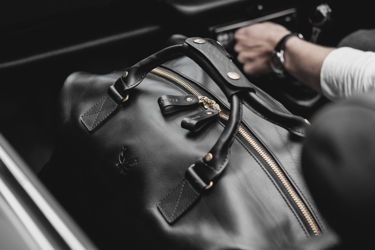 The Leather Weekender by Bennett Winch 1