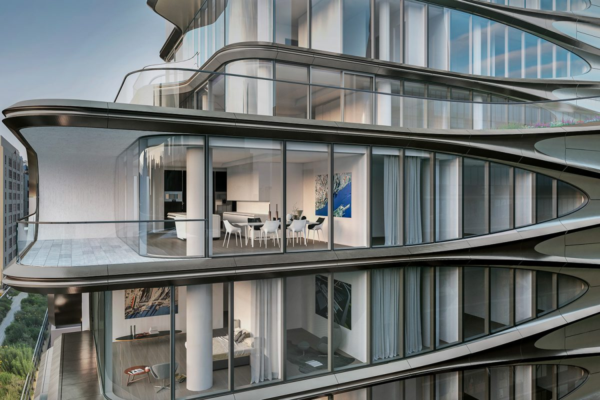 Ein Blick in Zaha Hadids 520 West 28th Street Projekt | MR.GOODLIFE