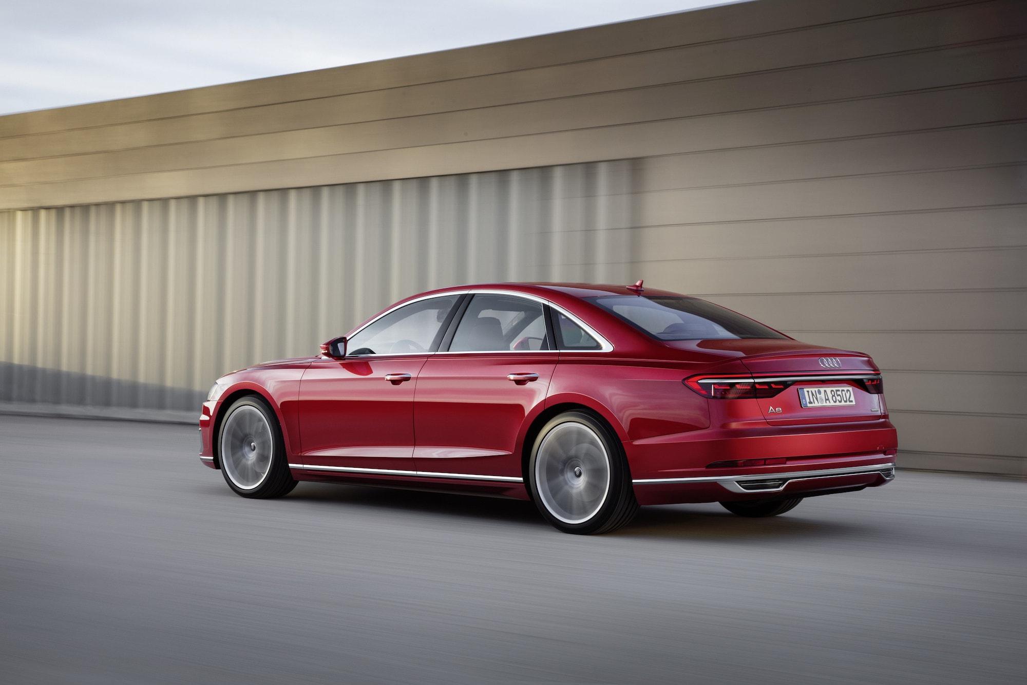 Audi A8 featured