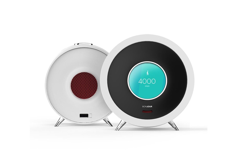 Ja, wecken kann sie Dich auch: Die Bonjour Smart Alarm Clock 3