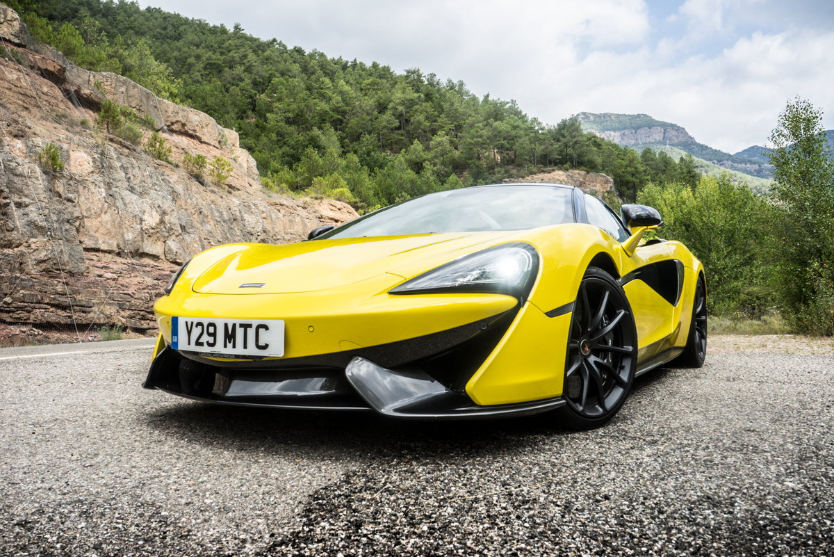 Drive Time With The New McLaren 570S Spider 9