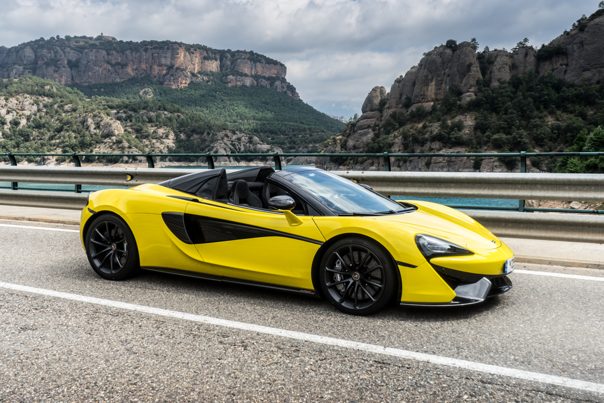 Drive Time With The New McLaren 570S Spider 2