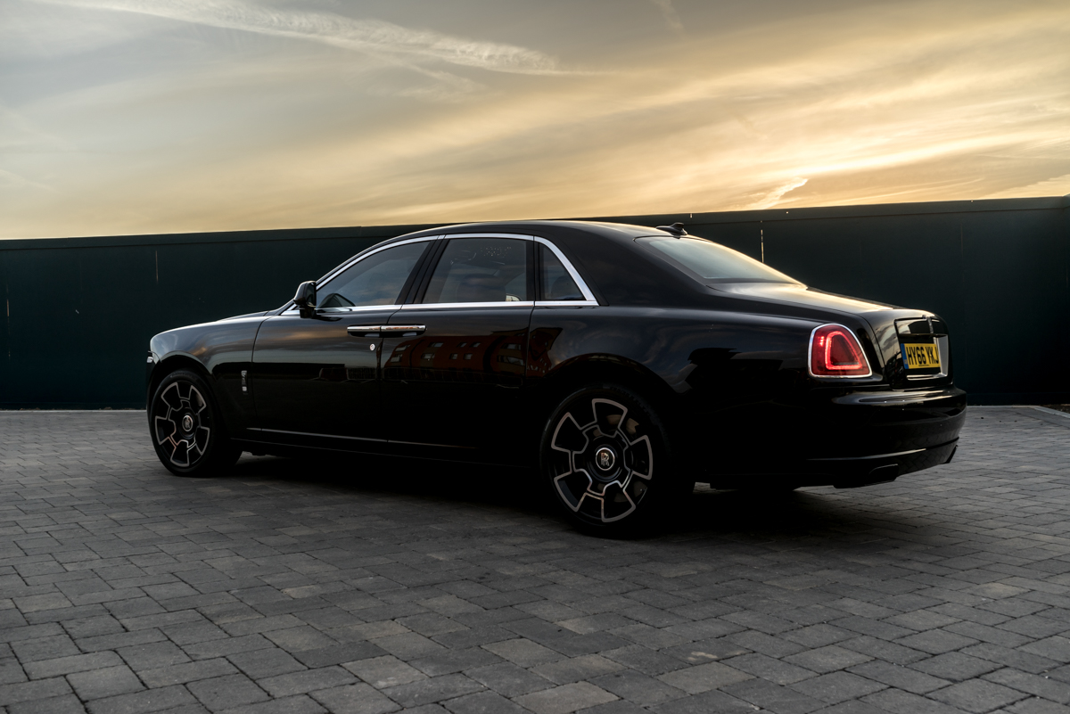 Disappearing Act in the Rolls-Royce Black Badge Ghost 14