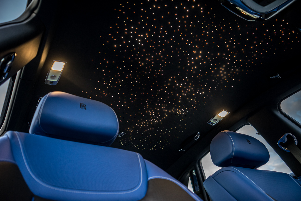 Disappearing Act in the Rolls-Royce Black Badge Ghost 12