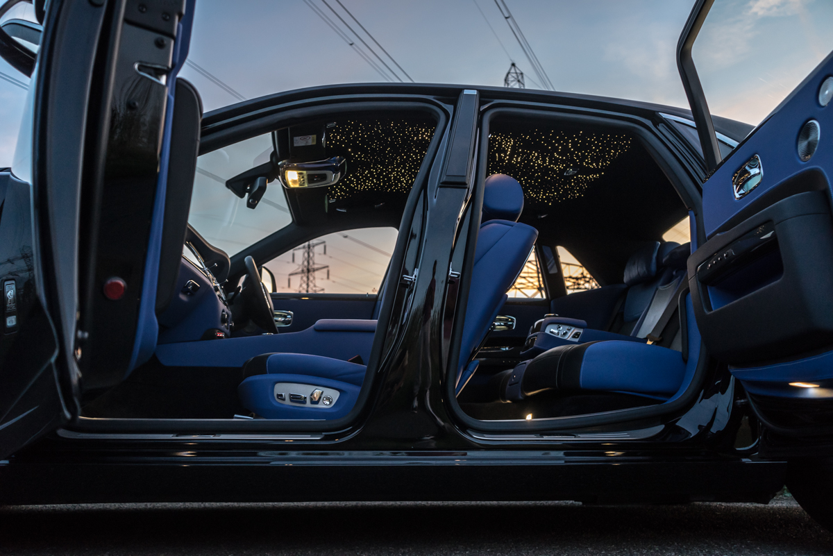 Disappearing Act in the Rolls-Royce Black Badge Ghost 7