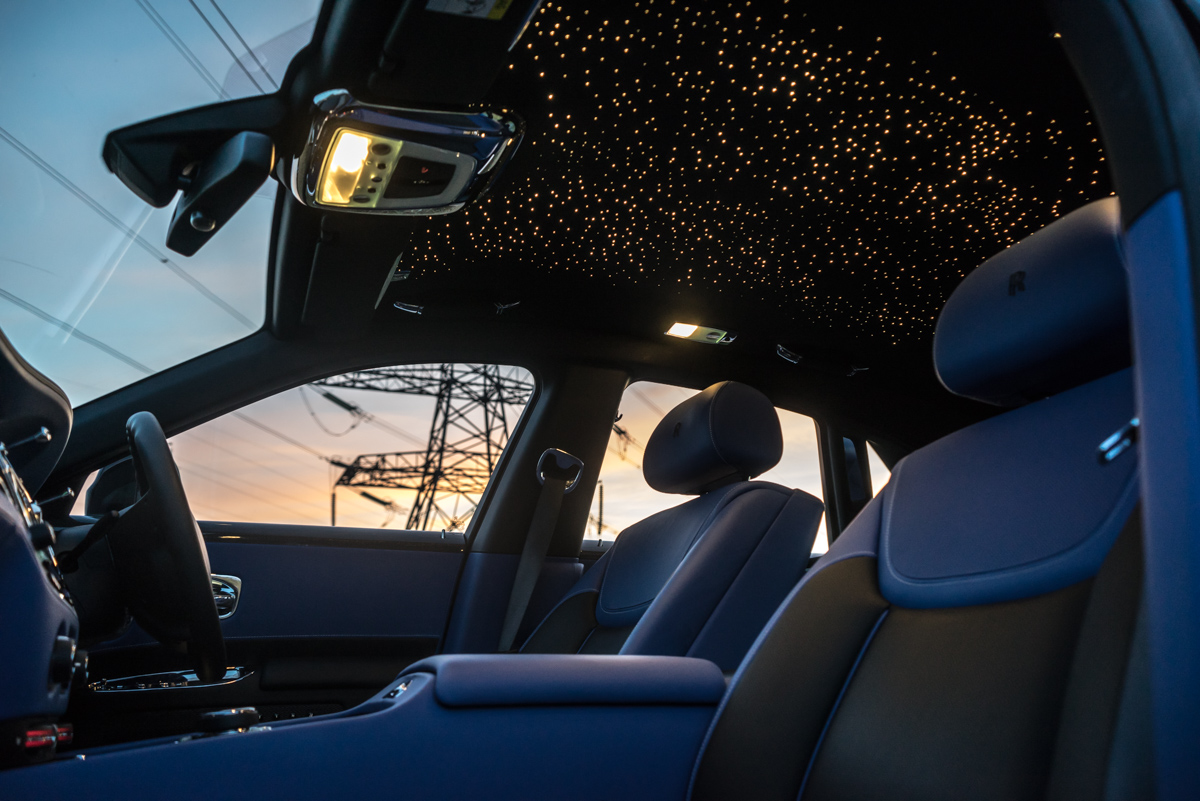 Disappearing Act in the Rolls-Royce Black Badge Ghost 11