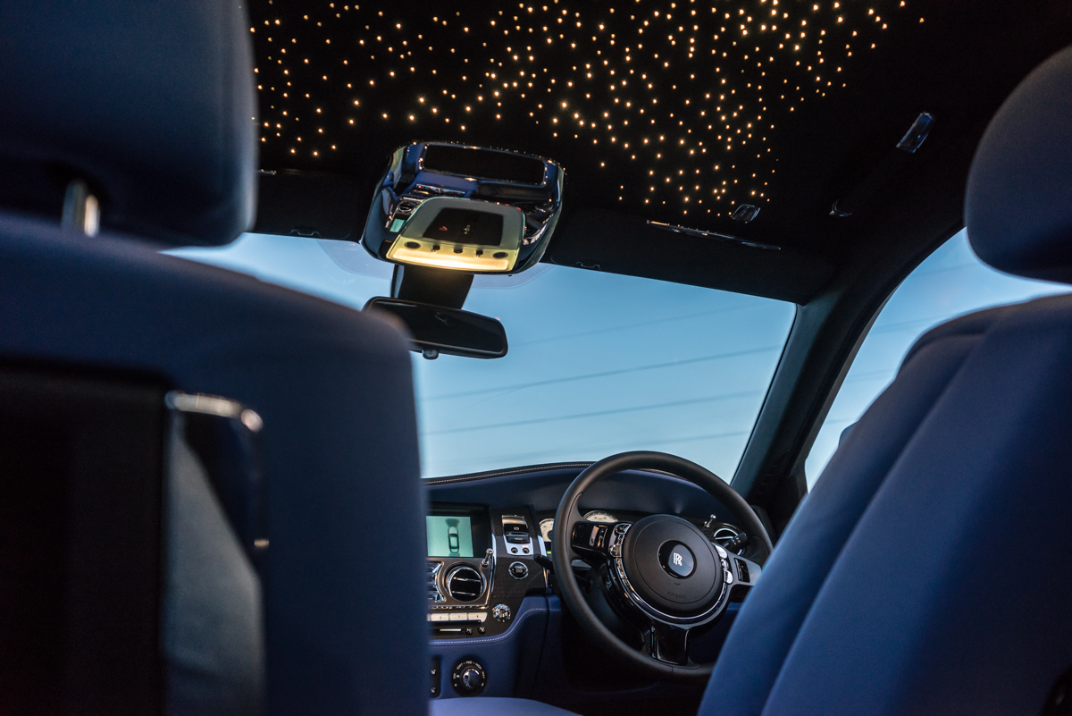 Disappearing Act in the Rolls-Royce Black Badge Ghost 10