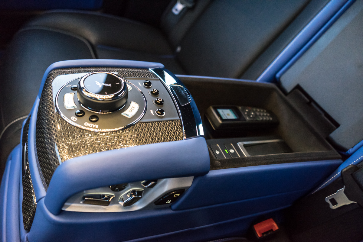 Disappearing Act in the Rolls-Royce Black Badge Ghost 9