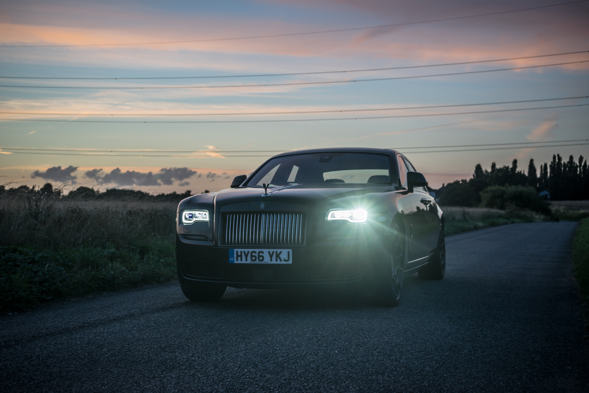 Disappearing Act in the Rolls-Royce Black Badge Ghost 8