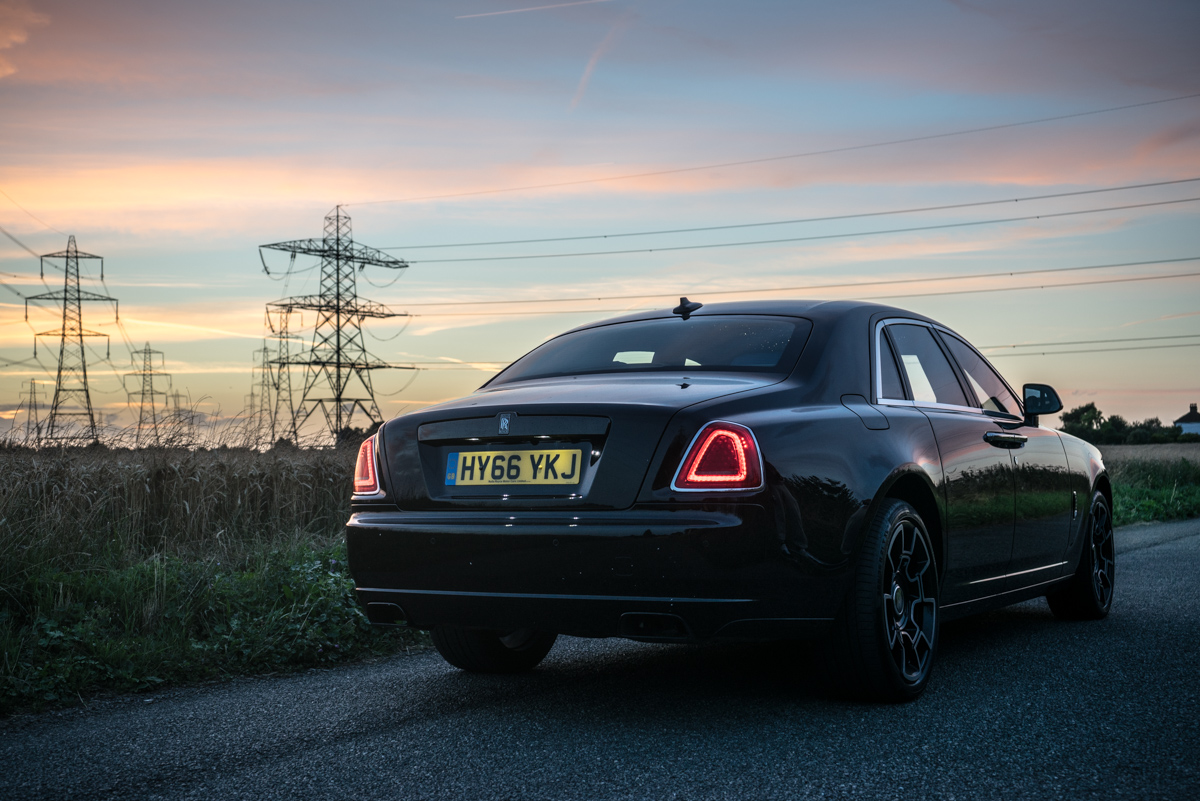 Disappearing Act in the Rolls-Royce Black Badge Ghost 5