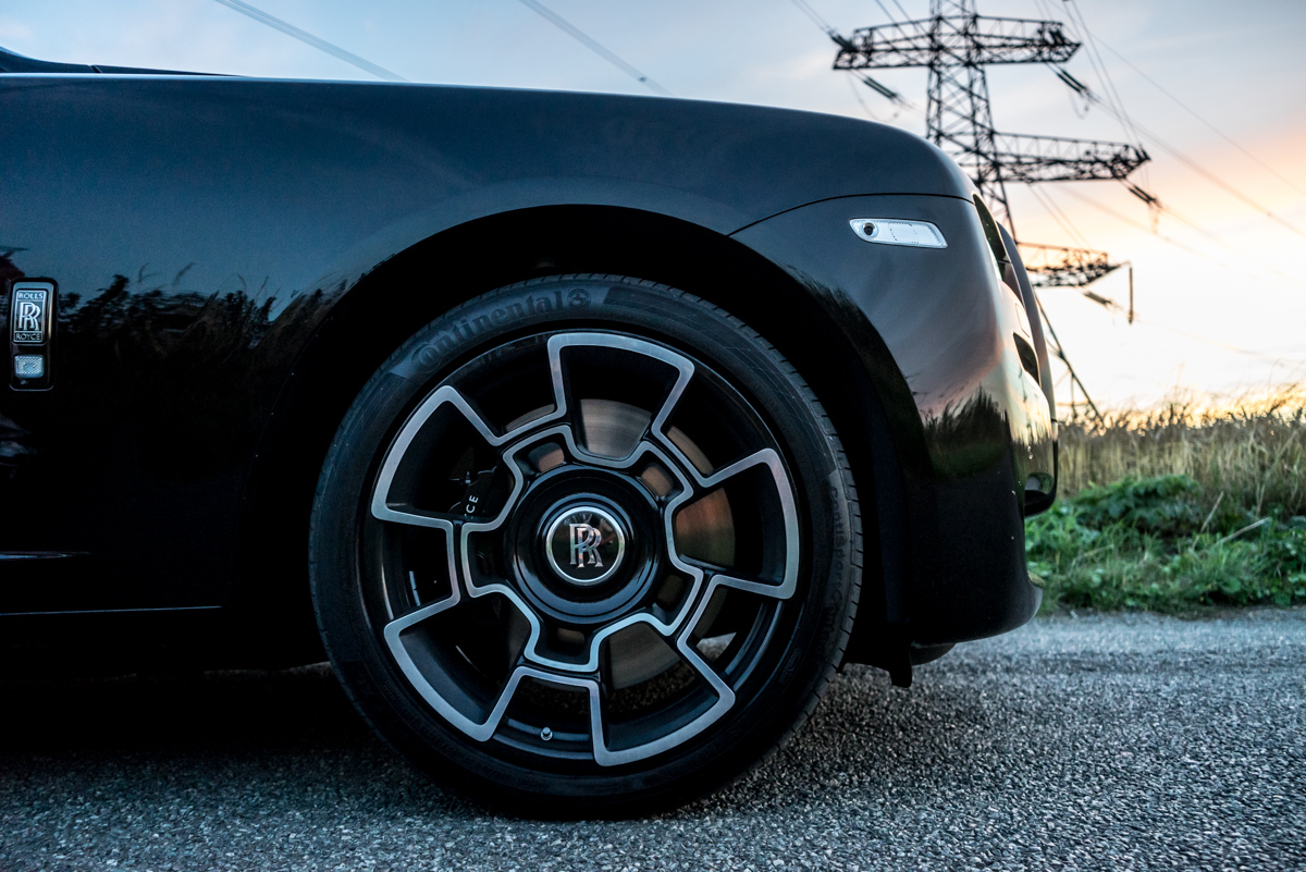 Disappearing Act in the Rolls-Royce Black Badge Ghost 6