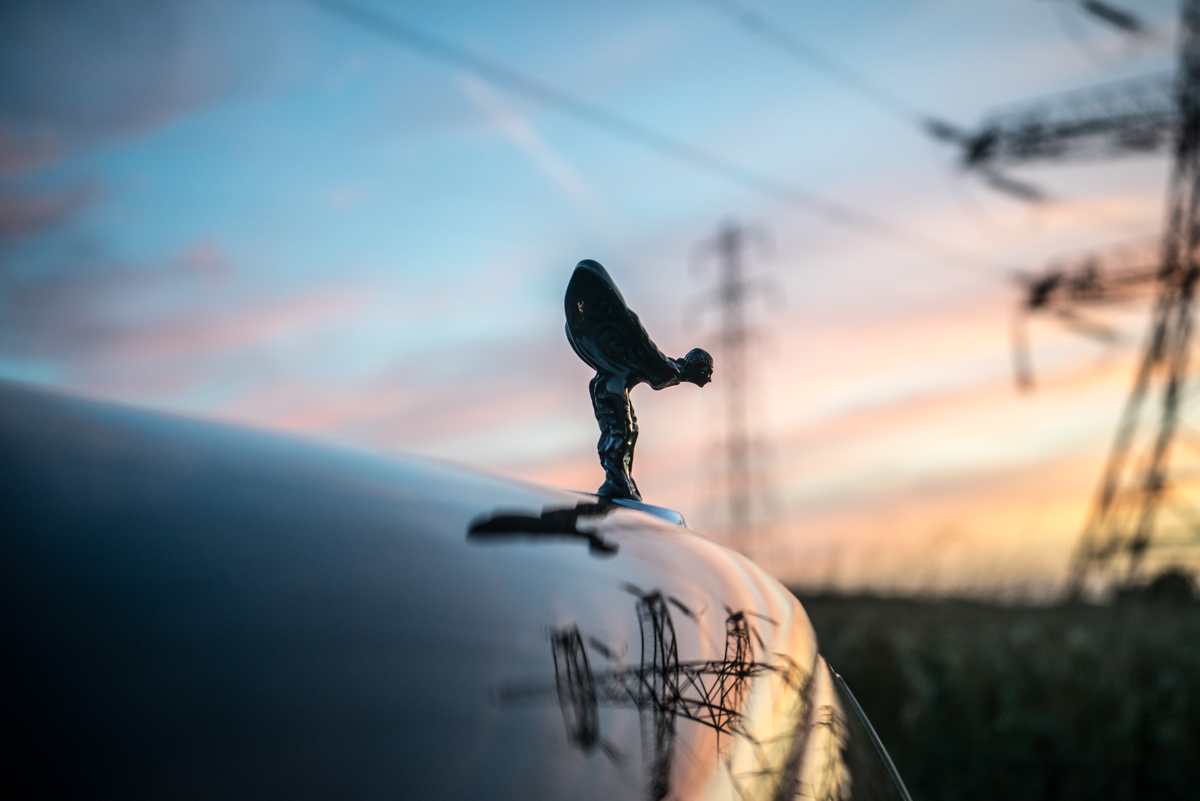 Disappearing Act in the Rolls-Royce Black Badge Ghost 4